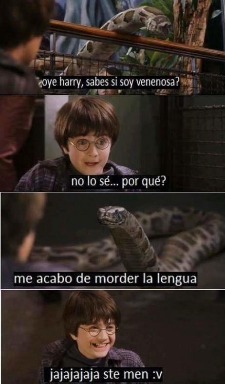 Harry potter y la anaconda venenosa