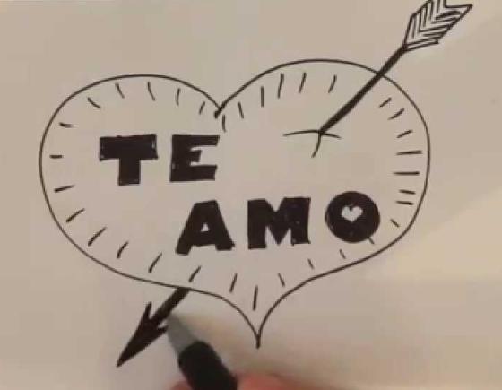 dibujo de nuestro amor