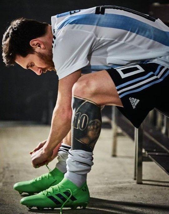 Messi en la selección argentina