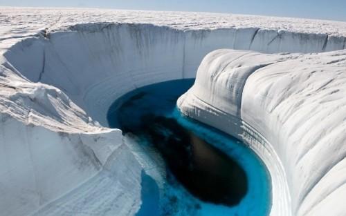 imagen de cañón de hielo