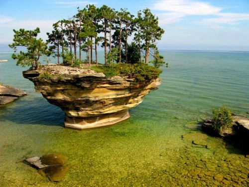 Turnip Rock (Michigan, EEUU)