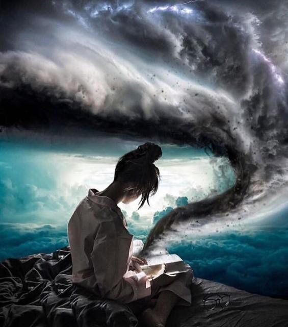 chica leyendo - ▷ X Imagen